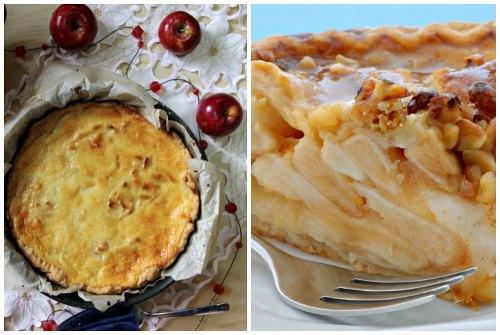 вид и срез пирога