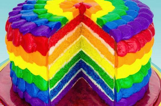 Разноцветная сладость