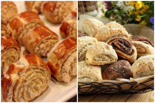 армянская выпечка с ореховой начинкой