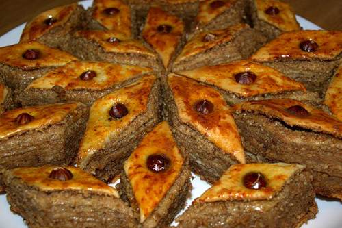 Десерт из Баку