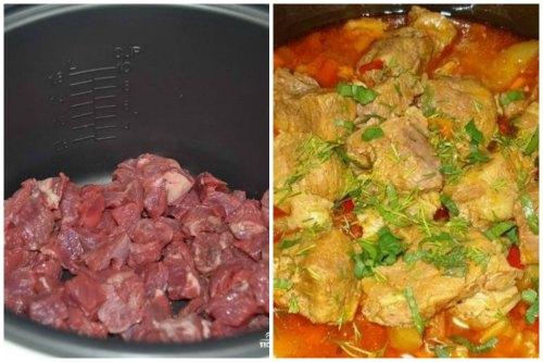 Мясо и готовое блюдо