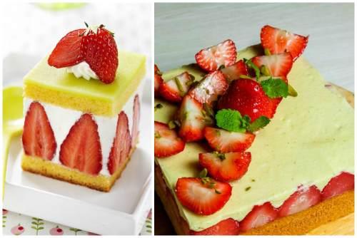Классический квадратный fraisier