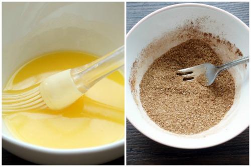 Топленое маслице и составляющие для начинки