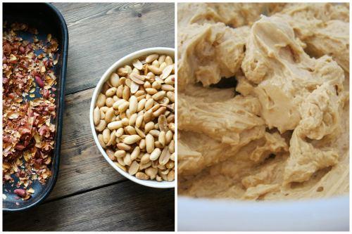 Чистим арахис и готовим карамельный крем