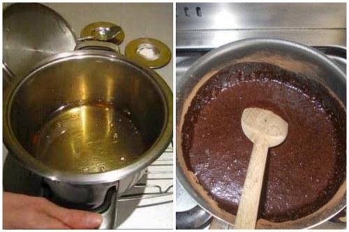 Приготовление сиропа и глазури