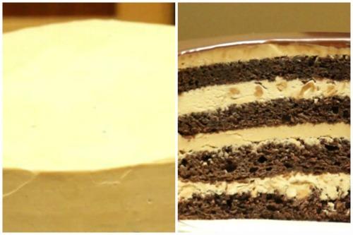 Промазка тортика