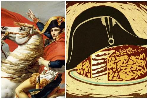 полководец и торт