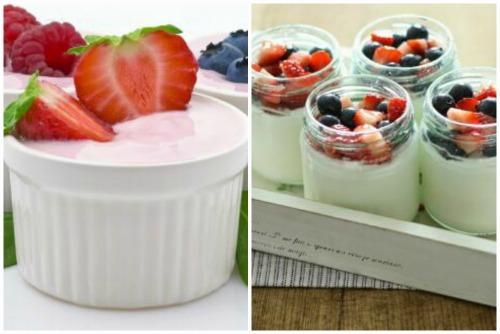 Молочно-ягодное чудо