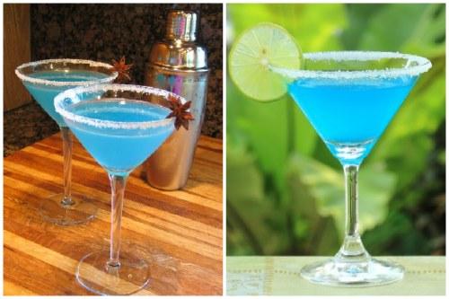 Голубая разновидность