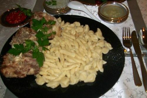 Национальное кавказское кушанье
