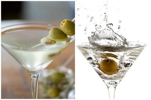 Оформление оливками