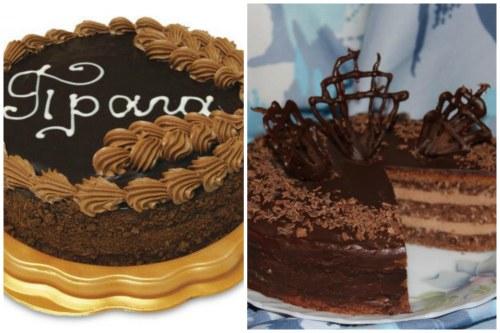 Варианты оформления тортика