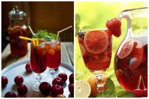 Красивый и вкусный напиток