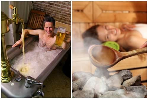 пивная ванна и пар