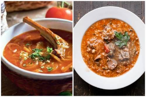 Оформление и подача супа