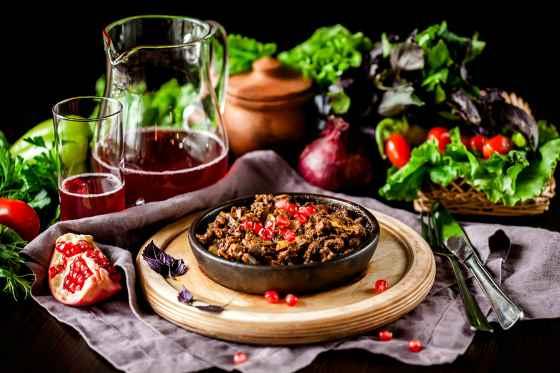 Национальное кушанье Грузии