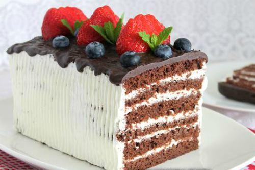 Десерт в виде торта