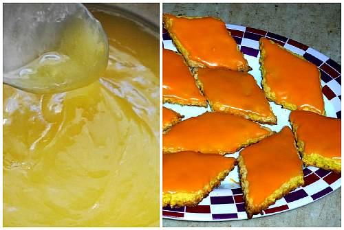 апельсиновая поливка