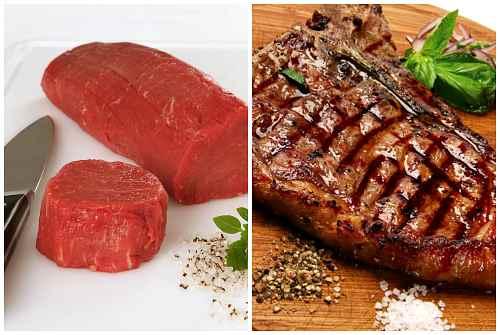 правильное мясо