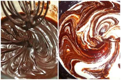 Шоколадно-сливочный крем