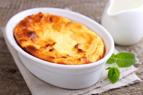 Сырно-творожное суфле