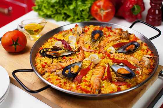 Знаменитое испанское блюдо