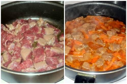 Мясо и обжарка