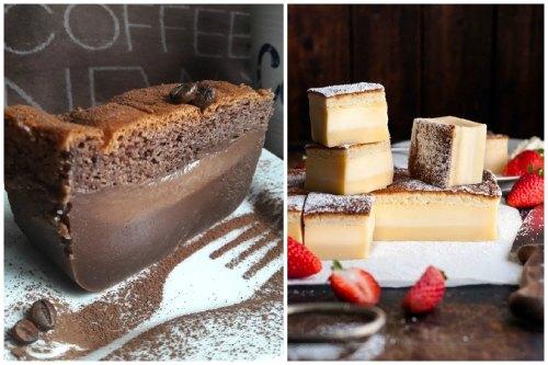 шоколадный Magic cake