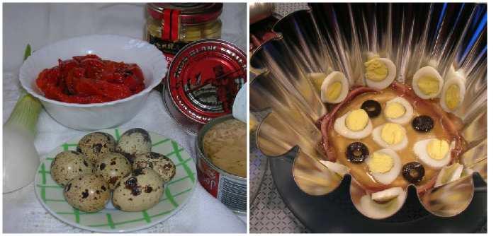 Приготовление Aspic de Bonito con Pimentada