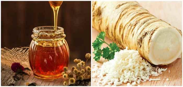 Мёд и хрен
