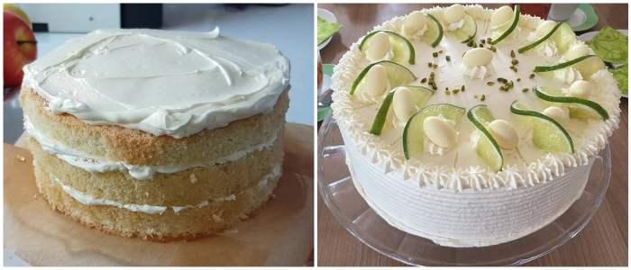 Украшение лимонного торта