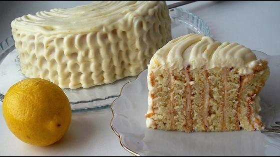 Торт Пломбир ванильный
