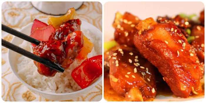 Готовое азиатское кушанье