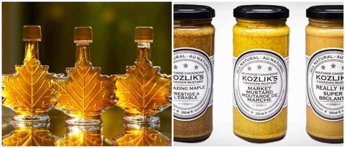 Кленовый сироп и канадская горчица