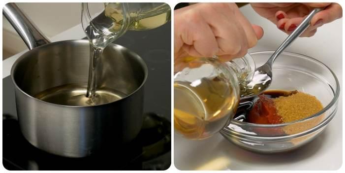 Подготовка фритюра и соевого соуса