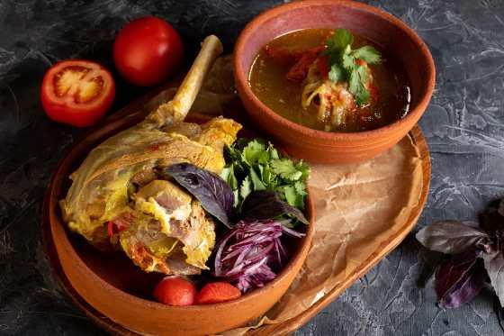 Буглама - традиционное азербайджанское блюдо