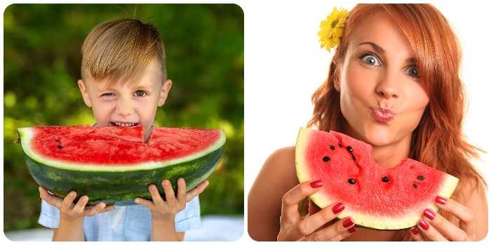 Полезные свойства арбуза для детей и взрослых