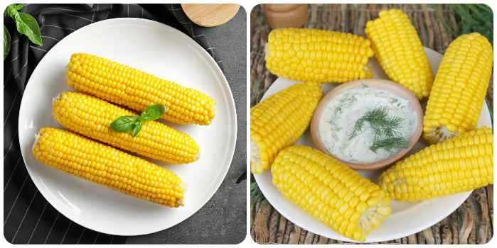 Варианты подачи кукурузы