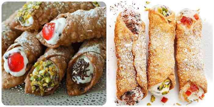 Классическая рецептура итальянских пирожных