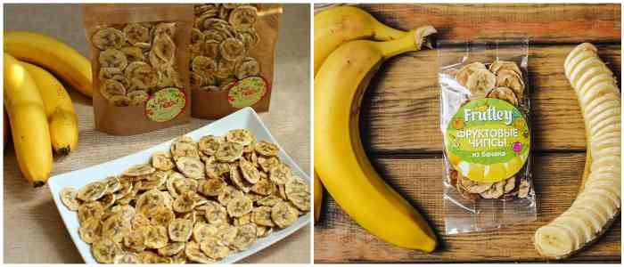 Банановые фрипсы