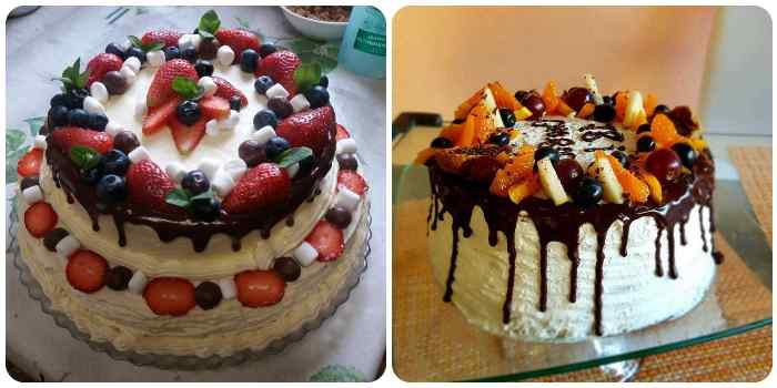Декорирование тортика