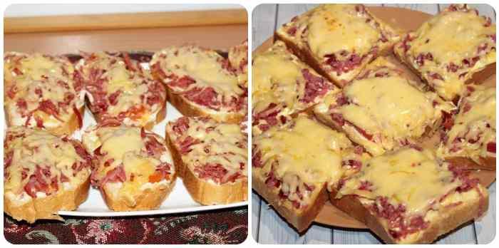 Классический вариант бутербродов