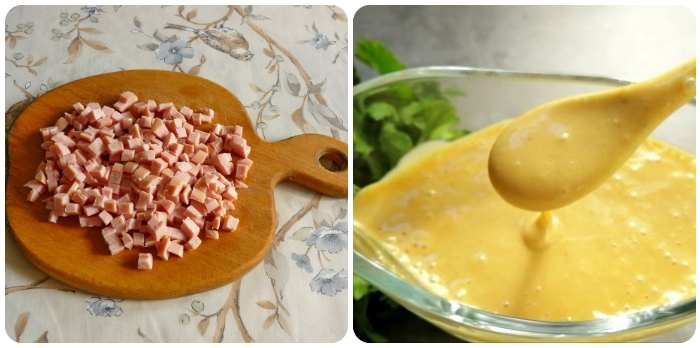 Сосиски и соус